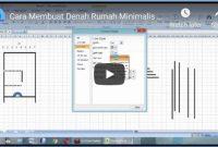 Membuat Denah Rumah dengan Excel