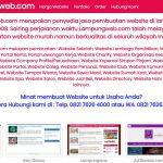 Lampungweb.com Jasa Pembuatan Website di Lampung
