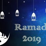 Ramadan 2019 Time Table