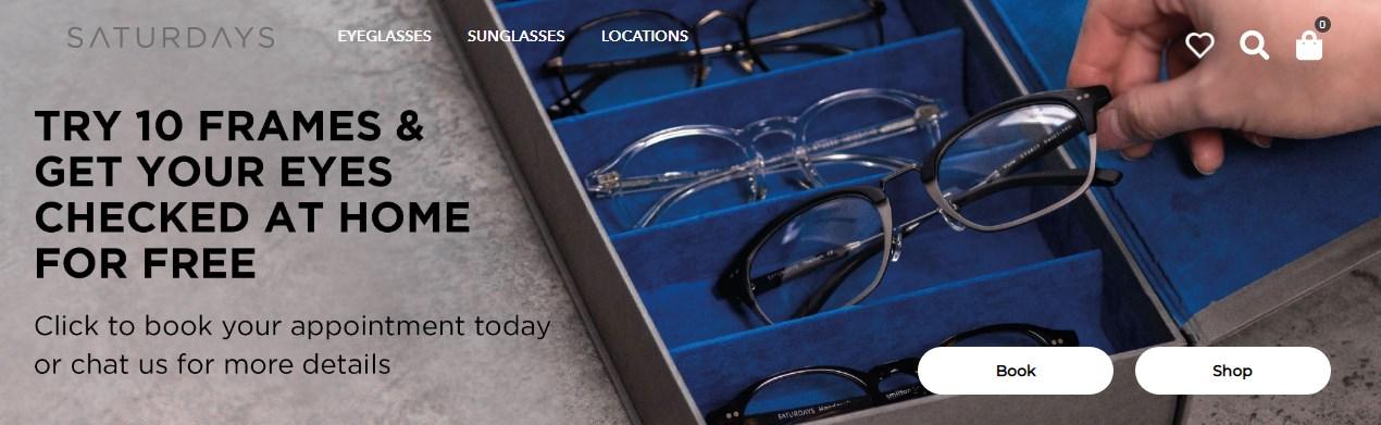 Inilah 5 Kacamata Frame Kotak dari SATURDAYS, Kamu Pilih Mana