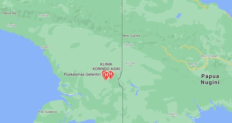Klinik Asiki Boven Digul Papua