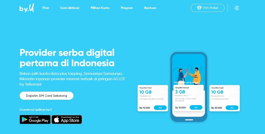 byU Provider Internet Digital