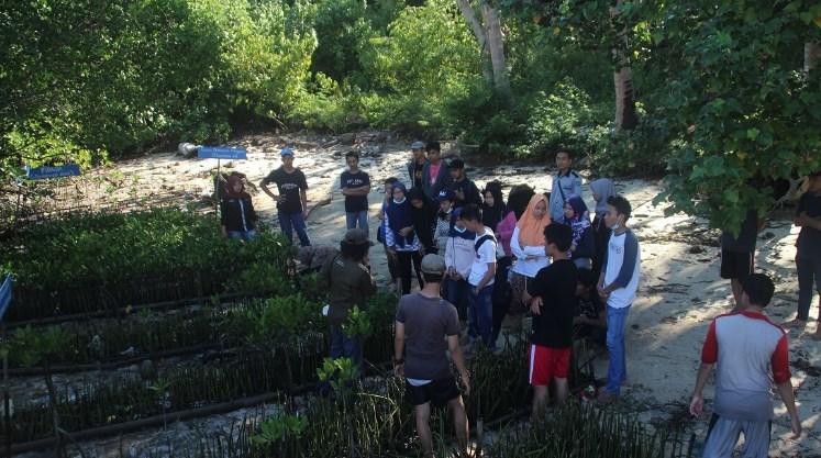 Edukasi Penanaman Mangrove
