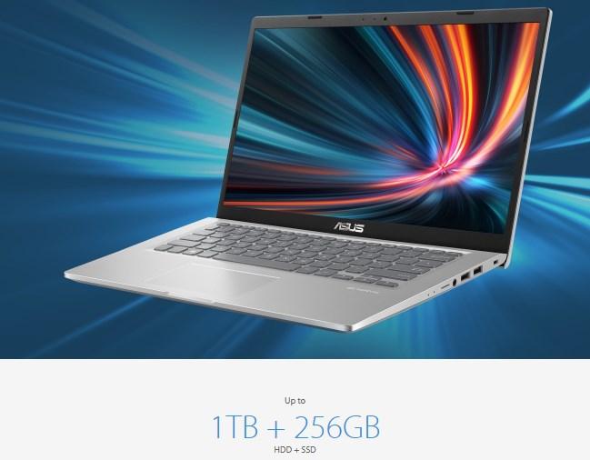 Kapasitas Hardisk ASUS VivoBook 14 A416