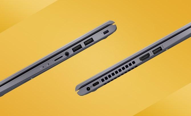 Konektivitas ASUS VivoBook 14 A416 Lebih lengkap dan Aman