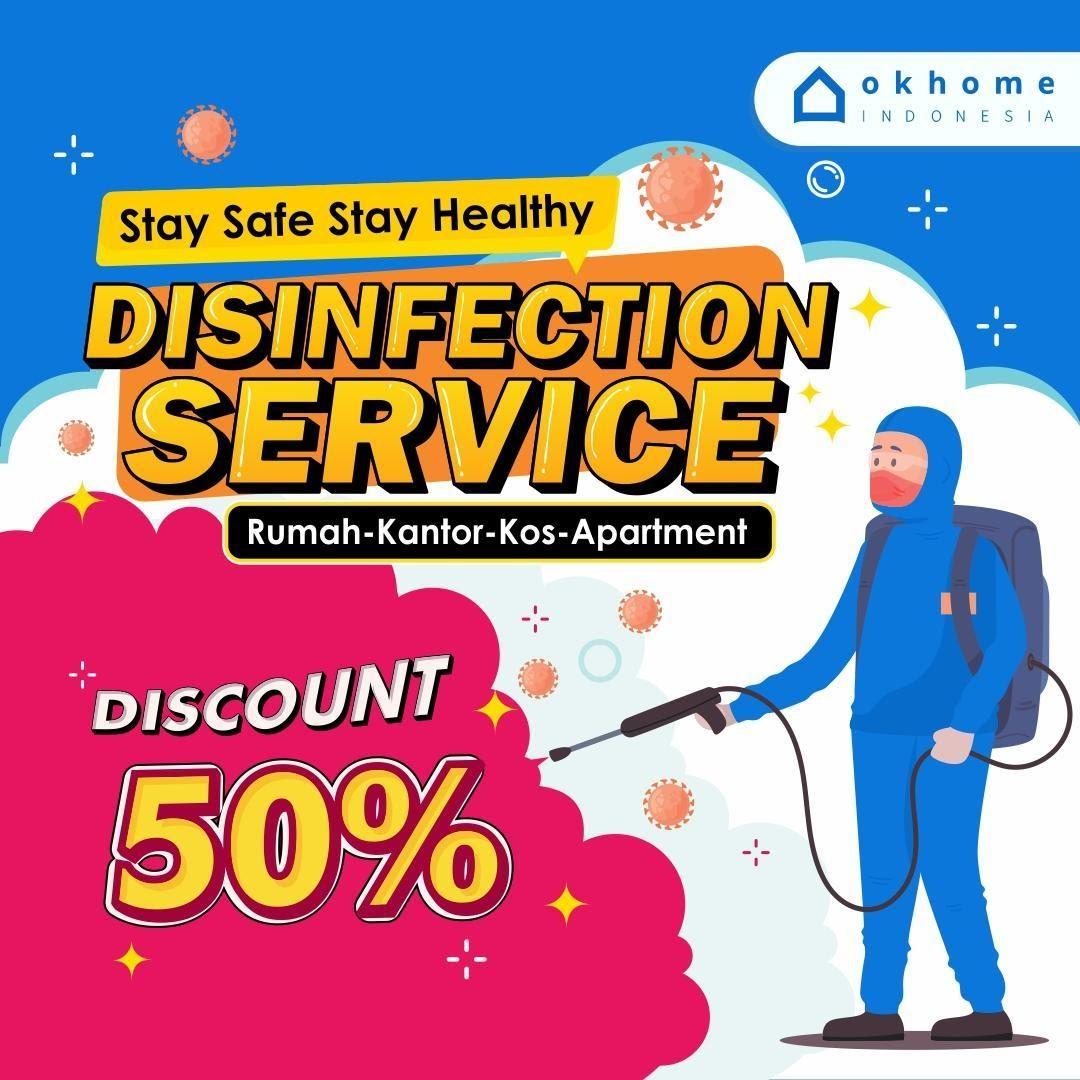Disinfection Service dari OKHOME
