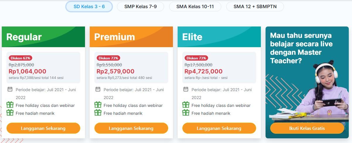 Bimbel Online Terbaik di Indonesia
