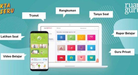 Ruangguru Aplikasi Belajar Online Terbaik